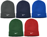 Nike Sideline Menand039s Cuffed Stocking Cap Knit Warm Winter Hat Authentic 867309
