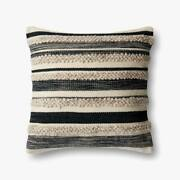22 X 22 Down Throw Pillow Joanna Gaines Magnolia Home Charcoal Fixer Upper Hgtv