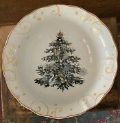 Williams-sonoma 2012 Christmas Tree 13andrdquo Large Serving Bowl 12 Days Of Christmas