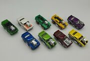 🔥hot Wheels Tooned 69 Camaro Z-28 Loose Lot Of 9, Incl. First Editions + Ths 🔥