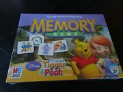 Milton Bradley Brand New Memory Game My Friends Tigger And Pooh Age 3+