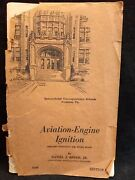 Aviation Engine Ignition Home Study Book Wwii 1944 Edition Scintilla Magnetos
