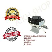 Original Drain Motor For Samsung Active Dual Wobble Top Load Automatic Washing M