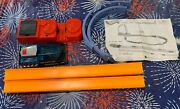 Hot Wheels 52575-9993 And B5699-8562 Starter Set Track Connectors Incomplete