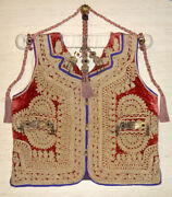 Aristocrat Silver Embroidered Ottoman Fully Medal Coat Vest Case