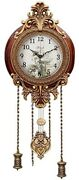 Elegant Classy Vintage Style Battery Operated 9 Inch Wall Clock