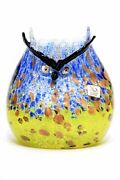Furnace Mian - Owl Leaf Silver In Murano Glass Signed
