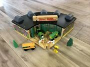 Thomas And Friends Tidmouth Station Roundhouse Engine Shed W/ Percy Carts And Tender