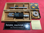 Mitutoyo Intrimik Bore Holtest Inside Micrometer .5 To .8 In W/1 Ring P637