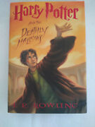 Scholastic Us Harry Potter And The Deathly Hallows By J. K. Rowling July 2007 12