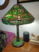 Vintage Large Style Dragonfly Lamp