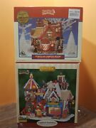 Lemax Northern Delight Bakery Gingerbread Cottage Cookie House Christmas Village