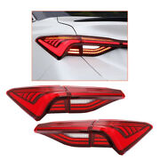Red Led Tail Light Assembly For Toyota Avalon 2019-2020 Sequential Signal