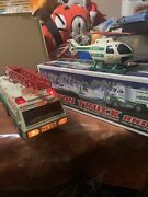 Brand New In Box 2010 Hess Toy Truck And Jet Working 1996 Truck 1995 Helicopter