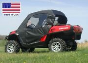 Can-am Commander Enclosure For Existing Windshield - Roof Doors Rear Window
