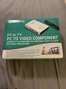 Grandtec Pc To Tv / Pc To Video Component System Projector With Remote Gxp-2000