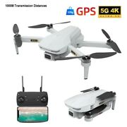 New 4k Rc Drone Hd Dual Camera Wifi 5g Gps Quadcopter Toy 1000m Remote Distance