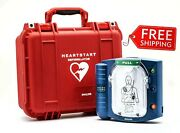 Philips Heartstart Onsite Aed With Plastic Waterproof Carry Case First Aid New