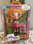 """Doll 12"""" Lalaloopsy Sew Limited Bea Spells A Lot Only At Target W Mini Doll"""