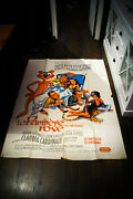 The Pink Panther 4x6 Ft Vintage French Grande Original Movie Poster 1963