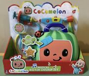 Cocomelon Jj Musical Doctor Check Up Set Dr Bag Play Set Talking Sing, Brand New