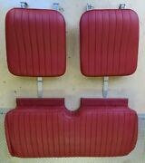 1946-1950 Mgtd Leather Seats Includes All Hardware Great Condtion