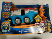 Paw Patrol Dino Rescue Dino Patroller Vehicle With Chase And T-rex Figures - 79…