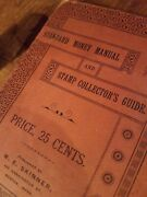 1892 Rare Standard Money Manuel And Stamp Collectors Guide By W. E. Skinner