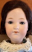 """Antique 20"""" Armand Marseille Character Mold 400 Doll With Fully Jointed Body"""