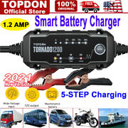 Car Battery Charger 6v 12v Volt Motorcycle Battery Repair Type Maintainer Charge