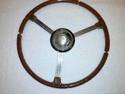 Vintage 1939 Buick 8 Special Century Road Master Sport Coupe Steering Wheel