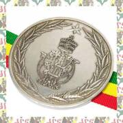 Very Rare Conference Of Heads Of African States Of May 1963 Silver Medal Silver