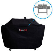 Cosmogrill Duo Smoker+ Gas Grill Barbecue Heavy Duty Cover 600d Oxford Fabric