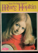 Mary Hopkin Songbook With Poster Paul Mccartney Beatles Music Book Apple Records