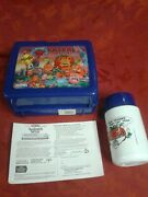New W/ Thermos Attack Of The Killer Tomatoes Lunch Box Rare Movie Vtg Gift Deco