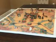 Vintage Rare Lone Ranger 1948 Frontier Town Complete