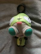 Invader Zim Mini Gir Outfit Switch Plush Clip On Toy Doll Very Rare