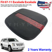 Fits 2007-2014 Cadillac Escalade Leather Center Console Lid Armrest Cover Black