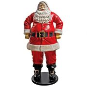 Ne80089 - Jolly Santa Claus Life-size Statue Grande Scale - Over 6and039 Tall