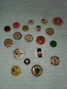 Vintage Pins Buttons