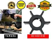 Impeller Outboard Yamaha And Mercury 6 / 8 Hp 662-44352-01 47-95611m 47-81242m