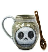 Disney The Nightmare Before Christmas Mug With Spoon Deadly Night Shade In Hand