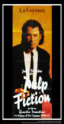 Pulp Fiction Style B 20 X 60 French Door Panel Movie Poster Original 1994