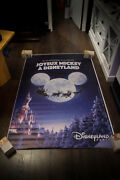 Disneyland Christmas Style A 4x6 Ft Shelter D/s Movie Poster Original 2018