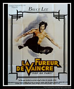 Fist Of Fury Bruce Lee 4x6 Ft French Grande Original Movie Poster 1972
