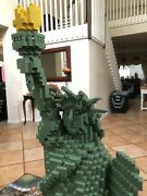Lego 3450 Statue Of Liberty Complete.  Rare Discontinued No Box Or Baseplate