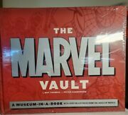 The Marvel Vault A Museum-in-a-book With Rare Collectibles - Sealed New