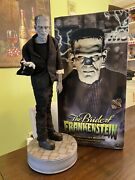 Frankenstein From The Bride Of Fr. Premium Format Statue Sideshow L.e 63/100 Sse