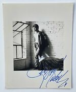 George Michael Autograph In-person Signed Photo Jsa Authentication
