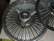 Ford Falcon Wire Spoke Spinner Hub Caps 14 Across Set Of 3 - Early 1960s